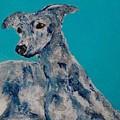 Blue Vespa by Mary Papageorgiou