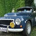 Blue Volvo by Barbie Corbett-Newmin