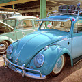 Blue Vw by David B Kawchak Custom Classic Photography