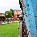 Blue Wagon 1 by Korynn Neil