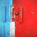 Blue Wall Red Door by Tara Turner