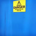 Blue Warning 2 by Jez C Self