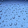 Blue Water Bubbles by Frank Tschakert