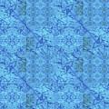 Blue Water Patchwork by Sue Duda