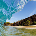 Blue Wave - Makena Beach by MakenaStockMedia - Printscapes