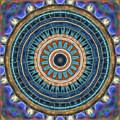 Blue Wheeler 2 by Wendy J St Christopher