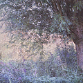 Blue Willow. Monet Style by Jenny Rainbow