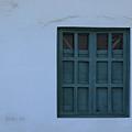 Blue Window In A Wall by Robert Hamm