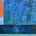 Blue With Orange by Michelle Calkins