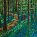 Bluebell Forest by Elizabeth Mundaden
