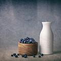 Blueberries And Cream by Tom Mc Nemar
