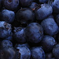 Blueberries Close-up - Horizontal by Carol Groenen