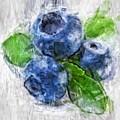 Blueberries by Tanya Gordeeva