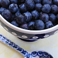 Blueberries With Spoon by Carol Groenen