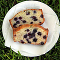 Blueberry Bread by Linda Woods