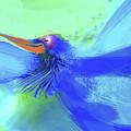 Bluebird Of Happiness by Wendy Sheridan