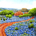 Bluebonnets Across Texas by Santiago Chavez