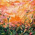 Bluegrass Sunrise - Desert A-left by Julie Turner