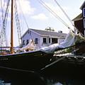 Bluenose II At Historic Properties Halifax Nova Scotia by Gary Corbett