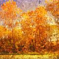 Gold Trees by Toni Hopper