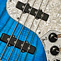 Blues Bass by William Jobes