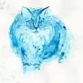 Blues Cat by James K Wilkinson
