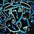 Blues Face by Kenal Louis