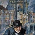 Blues Of Prague. by Anna Duyunova