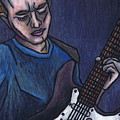 Blues Player by Kamil Swiatek