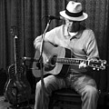 Bluesman With A Martin And A National by Rosanne Licciardi
