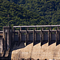 Bluestone West Virginia Dam Panorama by Teresa Mucha