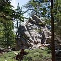 Bluff Lake Ca Boulders 1 by Chris Brannen
