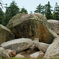 Bluff Lake Ca Boulders 3 by Chris Brannen
