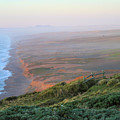 Bluffs And South Beach Point Reyes by Bonnie Follett