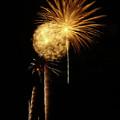 Blurred Fireworks by Elaine Malott