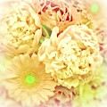 Blush Floral Bouquet by Mary Pille