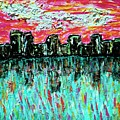 Blushing Metropolis by April Harker