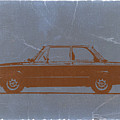 Bmw 2002 Orange by Naxart Studio