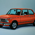 Bmw 2002 1968 Painting by Paul Meijering