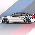 Bmw 3 Series E36 M3 Gtr Coupe Touring Car by Monkey Crisis On Mars