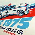 Bmw 3.0 Csl Sebring 1975 Peterson Redman by Daniel Senkerik
