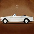 Bmw 503 1956 by Mark Rogan