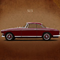 Bmw 503 Coupe 1956 by Mark Rogan