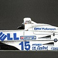 Bmw Le Mans Winner 1999 by Alain Baudouin