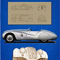 Bmw Mille Miglia Poster by Marcu Daniel