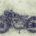 Bmw R32 - 1919 - Motorcycle Poster 1 - Automotive Art by Studio Grafiikka