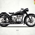 The R51 Motorcycle by Mark Rogan