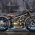 Bmw Vintage Motorcycle by Mary Machare