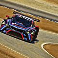 Bmw Z4 Gte Gt Le Mans Tudor by Blake Richards