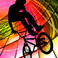 Bmx In Lines And Circles by Elaine Plesser